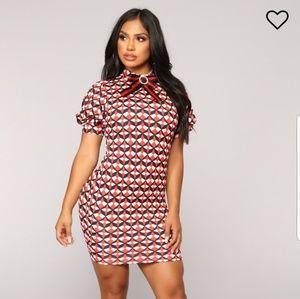 Fashion Nova Dresses - First Impressions Dress - Red 7cf3be0b4